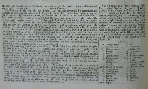 © All rights reserved. The Builder, XIII, 13, January 1855, p18 (enlarged-part 1)